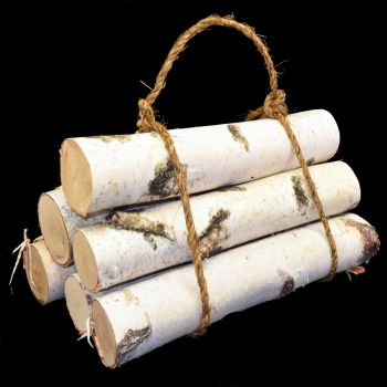 "CBL23  16"" Birch Logs 6/Bundle"