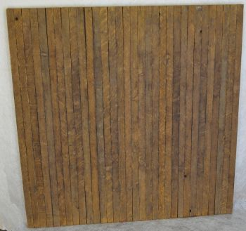 DRDW01    Rustic Wood Display Wall