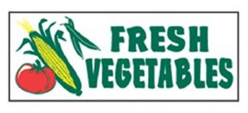 Fresh Vegetables Banner