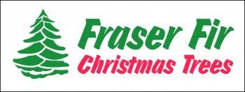 Fraser Fir Christmas Trees Banner