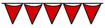 Red Pennant String