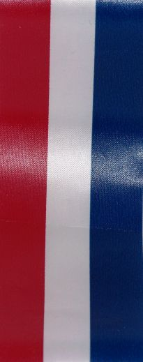 Red White & Blue Poly Satin
