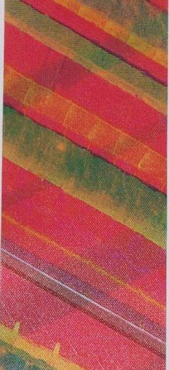 Diagonal Blaze Poly Satin