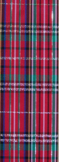 RPCP41 - Christmas Plaid Acetate #40 x 100 yds.