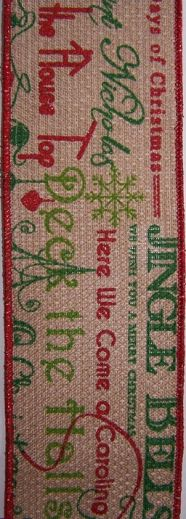 Burlap - Songs #40 x 10 yds