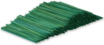 "SPU04 - 4"" Unwired Green Wood Picks"