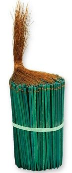 "SPW06 - 6"" Wired Green Wood Picks"