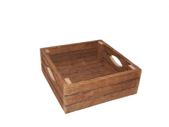 Square Display Crate