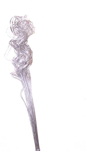 """CTTSV - 32"""" Ting Ting - Silver - Pkg. of 80 stems"""