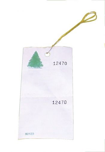 TYVEK Tree Tags