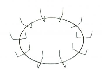 """WSC1210  - 12"""" Single Rail Clamp Ring with 10 clamps"""